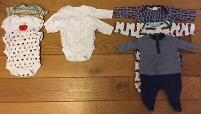 Baby Boy Clothes Newborn Bundle - Next, Mamas and Papas and Mini Club