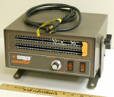 Simco Aerostat A300 Ionizer Ionizing Air Blower w/ 300W Heater - Tested Working