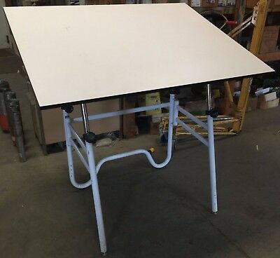 "48"" x 36"" Alvin Drafting Table, Fold-able Base, Portable for Drawing, Art etc."