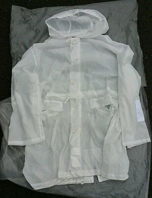 British Army Parka White Camoflague Arctic New In Packet Snow Camo Smock