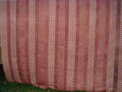 "Vtg Antique Pieced Quilt Backing - Quite old fabric   Hand Pieced 82"" x 96"""