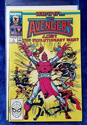 WHAT IF...?(1989) #1 The Avengers Lost The Evolutionary War Marvel Comics