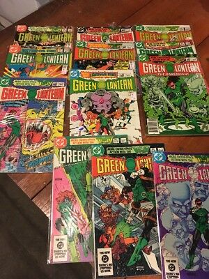 Lot Of Vintage Comic Books Dc Comics G/vg Green Lantern 158-169 12 Issues