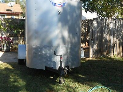 """2006 """"pace"""" Enclosed Motorcycle Trailer"""