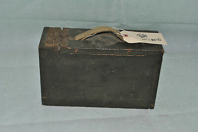 WW1 WW2 US Army USMC 3 Cal wooden ammunition ammo box 1919 12-068