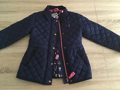 Girls Joules Padded Jacket, Age 7