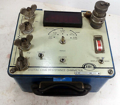 1 Used Biddle 247000 Digital Low Resistance Ohmmeter ***make Offer***
