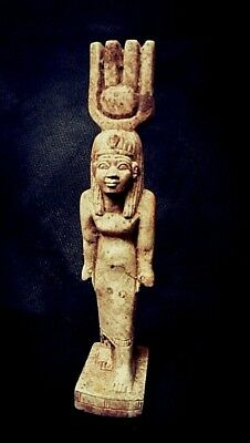 Rare Ancient Egyptian QUEEN statue (1500-1000 BC)