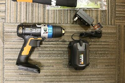 WORX WX178L 20V Max Advanced Intelligence Lithium-Ion Cordless LED Ai Drill NEW