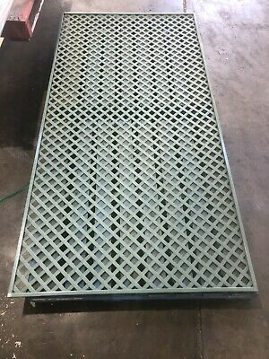 Plastic Lattice 2.4m x 1.2m and 2.4m x 0.6m