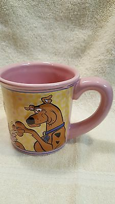 Hanna-Barbera Scooby-Doo Pink Oversized Coffee Cup Mug 3D Dimensional Scooby