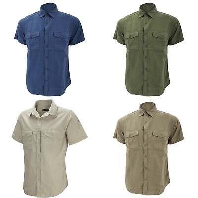 Craghoppers Mens Kiwi Short Sleeve Casual Shirt 3 Colours Sizes S-2XL