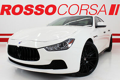 "2016 Maserati Ghibli S Q4 2016 Maserati Ghibli S Q4 CUSTOM ($93K MSRP) 22"" + BLACK OUT + CUSTOM 22"" WHEELS"