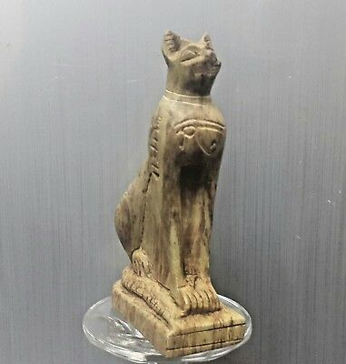 Rare  Antique Ancient Egyptian CAT BASTET (1500-1000 BC)