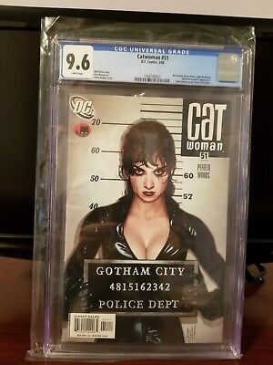 Catwoman #51 (2002 3rd series) CGC 9.6 Adam Hughes Lost Numbers Cover!