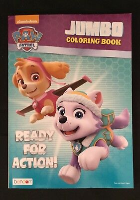 BRAND NEW Paw Patrol Ready For Action! Jumbo Coloring and Activity Book