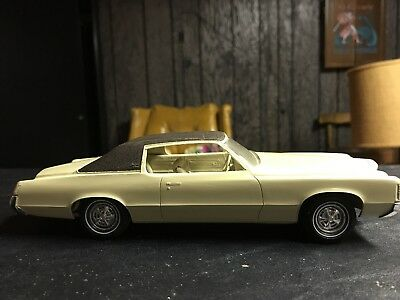 Vintage 1971 Pontiac Grand Prix Screw Bottom Model Car