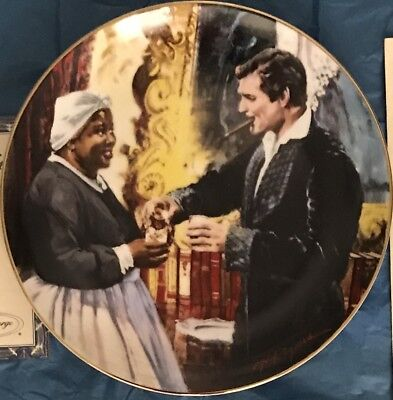 Gone With The Wind Golden Anniversary Series - Plate #11 A Toast To Bonnie Blue!