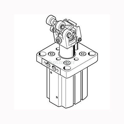 FESTO DFST-50-30-L-Y4-A Stopper Cylinder 555572 Stroke 30 mm