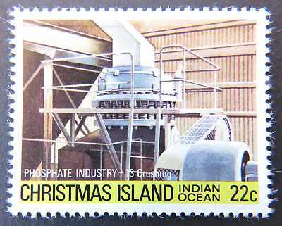 1980-1981 Christmas Island Stamps - Phosphate Industry IV - 22c-Crushing MNH