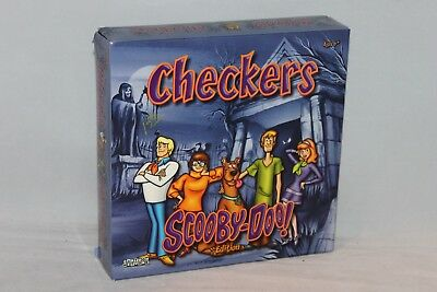 Scooby Doo Edition Checkers by Friendly Games- Excellent Condition! Complete!