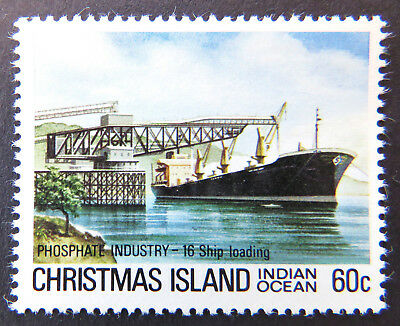 1980-1981 Christmas Island Stamps - Phosphate Industry IV - 60c-Loading MNH