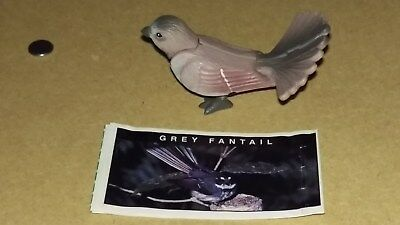 YOWIE Series 1. GREY FANTAIL with info paper + Toy Collectible