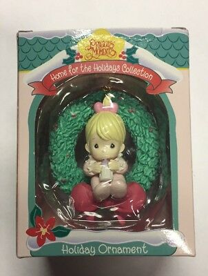 Vintage Precious Moments Home For The Holidays Collection  1996  Ornament