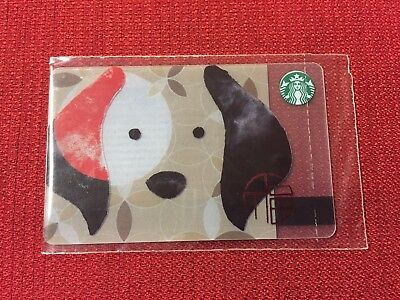 New Starbucks Sealed Russia Year Of The Dog 2018 Gift Card Very Limited
