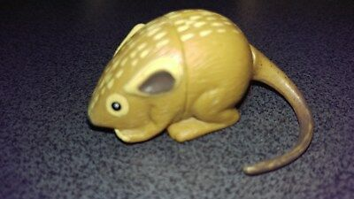Cadbury YOWIES, Series 1  DESSERT MOUSE, toy collectible, NO info paper, 1997