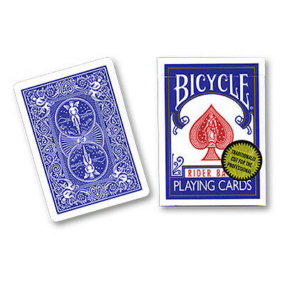 Bicycle Playing Cards (Gold Standard) BLUE BACK by Richard Turner