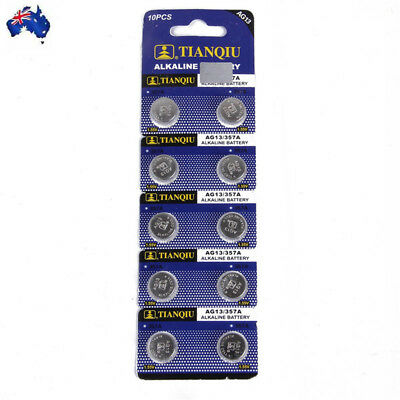 LR44 AG13 A76 ALKALINE CELL BUTTON BATTERY BATTERIES 1.5V from NSW