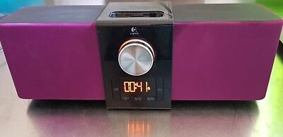 Logitech docking station for Apple iPod / iPhone. Speaker / alarm
