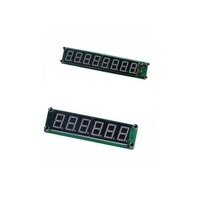 2x Green 6LED and 8LED Signal Frequency Counter Cymometer Meter 1000MHz