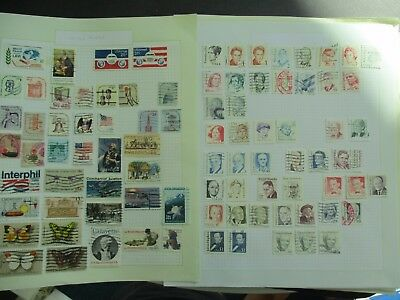 ESTATE:  USA collection on pages - heaps - part 2  (4328)