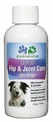 Glucosamine Chondroitin COMPLETE HIP & JOINT SUPPORT by Healthy Paws Factory 4oz