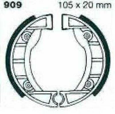 EBC Brake Shoes without Springs 909