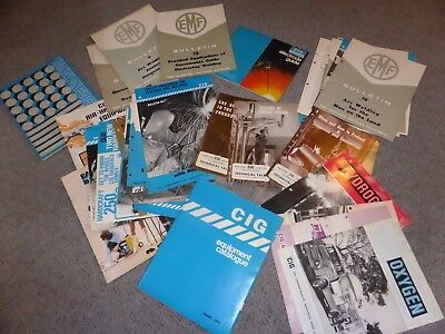 CIG Welding Brochures Bulletin Guides Technical Talk 1960s to 1970s collectable