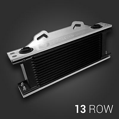 SETRAB ProLine Series 6 - 13 Row Oil Cooler & Custom Aluminium Brackets