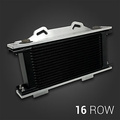 SETRAB ProLine Series 6 - 16 Row Oil Cooler & Custom Aluminium Brackets