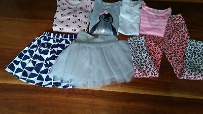 Bulk Lot Of 7 girls items sizes 3 (seed, zara, H&M, bonds,...