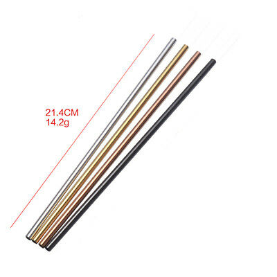 1PCNew Stainless Steel Drinking Straw Reusable Straw Straight Bendy Party Supply