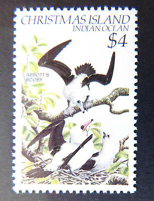 1982-1983 Christmas Island Stamps - Birds Definitives - Single $4 - Booby MNH