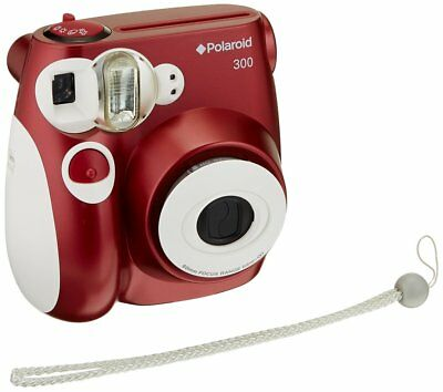 Polaroid PIC-300 Instant Film Camera (Red)