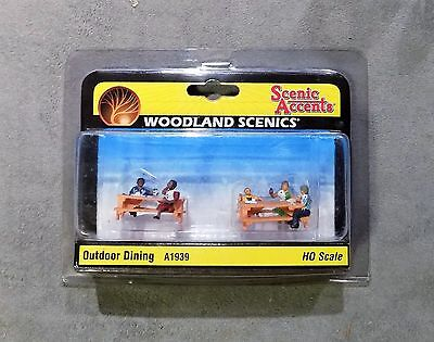Scenic Accents Woodland Scenics Outdoor Dining A1939 HO NIP