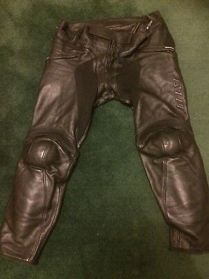 Dainese Leather Trousers Size 56