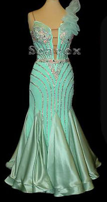 U3494 Elegant Women ballroom tango waltz Quickstep salsa dance dress Custom made