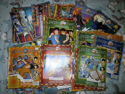 71  Jackie  Chan  Adventures  Magazines  + 3 Posters