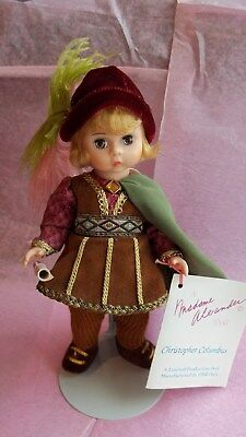 "8"" Madame Alexander doll Christopher Columbus"