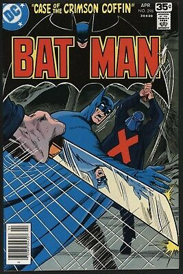 Batman #298 Nice Tight Structure Vf/nm 9.0 Glossy Cents Copy With White Pages